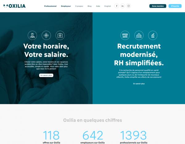 Nouveau site web : Oxilia fait peau neuve!